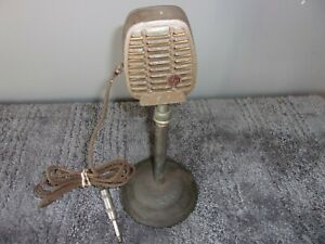 VINTAGE SHURE CR-81 CONTROLLED RELUCTANCE MICROPHONE