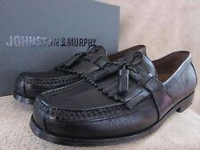 JOHNSTON & MURPHY Mens Aragon Black Oxfords Dress Casual Shoes US 11 EUR 44 NWB