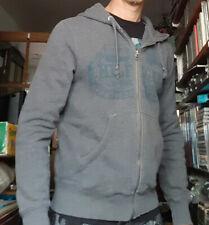 HILFIGER gilet zippé à capuche taille S gris