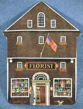 The Town Florist Charles Wysocki Folktown Collector Plate Bradford Exchange