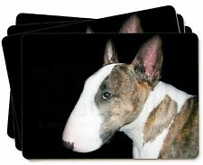 A Beautiful Brindle Bull Terrier Picture Placemats in Gift Box, AD-BUT7P