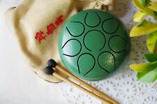 Mini Steel Tongue Drum/Tank Drum Hand Pan Drum Chakra Drum Healing meditation