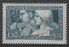 """FRANCE STAMP TIMBRE 252 """" CAISSE AMORTISSEMENT LE TRAVAIL1928 """" NEUF xx SUP N978"""