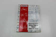 2000 Suzuki Y Models Motorcycle & Atv Wiring Diagram Manual 99923-54000