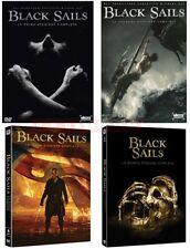 BLACK SAILS - STAGIONI DA 1 A 4 (14 DVD) - COFANETTI SINGOLI, NUOVI, ITALIANI, O