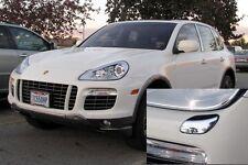 US Seller Head Light Washer Covers x2 for Porsche Cayenne LCI 957 CHROME