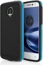 Incipio Performance Series Level 4 Case w/ Clip for Moto Z Force Black/Blue RARE