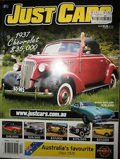 Just Cars Mag 2013 1965 MkI V6 Ford Cortina FPV R SPEC GT Falcon 53 Chev Bel Air