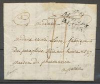 1827 Lettre Cursive 40/Ménars/Blois, LOIR ET CHER TB X4035