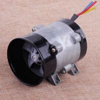 12V 16,5A Turbine électrique voiture Power chargeur Turbo Boost Tan Air Intake
