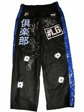 WWE LUKE GALLOWS RING WORN HAND SIGNED THE CLUB PANTS WITH PICTURE PROOF & COA 1