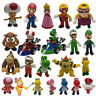New Super Mario Bros. Characters Collectible Plastic PVC Action Figure Doll Toy