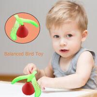 Lovely Mini DIY Balancing Bird Toys Desk Crafts Display Decor Children Gifts