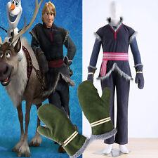 Kristoff Costume - Adult Kristoff Costume Mens Kristoff Cosplay Costume Gloves