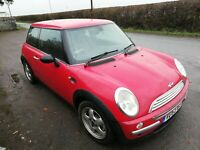 Mini One. 2003 new mot Spares or repair  NO RESERVE