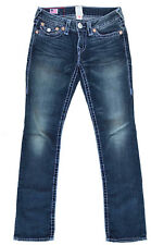 True Religion Jeans 'BILLY SUPER T' Indigo Size 27 L34 EUC RRP $499 Womens