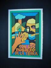 JOSE MARTI Cuban Silkscreen Pop Art Gem by Raul Martinez / Only 25 Made in CUBA