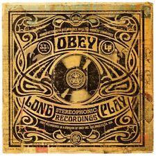 Obey Giant Shepard Fairey Art Poster Dance Floor Riot Psychadelic Long Play LP