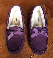 NEW UGG Australia DAKOTA Anemone Purple Exotic Scales Slippers Size US 8 1007575