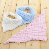 Baby Bib Pure Cotton Blend Gauze Saliva Towel Bib Feeding Triangle Bandana