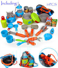 New Kid Pretend Toy Delux Outdoor Utensil Camping Set (008-80A)