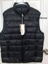 NWT Abercrombie & Fitch 2019 Lightweight Packable Puffer Vest Jacket Black XL
