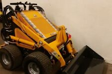 Mini Skid Steer Loader New Champ Unilift Gas Briggs Tires Skidsteer Paint Damage