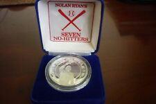 REPUBLIC OF LIBERIA 1993 - 10 DOLLARS .999 SILVER - NOLAN RYAN SEVEN  NO-HITTERS