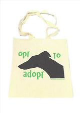 Greyhound galgo lurcher shopper bag