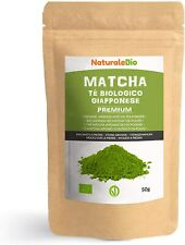 Thé Matcha Bio Japonais [ Premium Qualité ] 50 gr. Vert en Poudre...