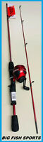 "ZEBCO 202 SLINGSHOT 5' 6"" Spincast Fishing Combo NEW! #SLSCRD562MLA FREE US SHIP"