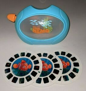 FINDING NEMO Viewmaster Set Viewer With 3 Reels View-Master RARE Disney Pixar