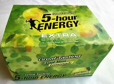 5 Hour Energy Extra Strength Cool Mint Lemonade 12 Count Box 1.93 Oz Shots