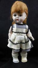 Vintage Unmarked Hard Plastic Walking Doll