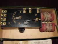 STEIN COMBINATION INSTRUMENT- ATCHISON CRYSTAL RADIO 1932