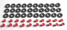 H0: 17 5000 062:  Sort. Reifen und Felgen für Busse und Lkw. Felgen rot
