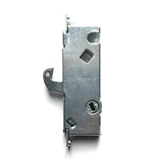 Sliding Door Mortise Lock, 45° Keyway, 3-11/16 In. Spacing, Steel Replacement La