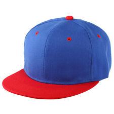 Plain Snapback Hat Caps Flat Funky Retro Baseball Cap Hip Hop Hats Vintage D7Y3