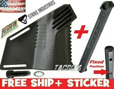 Strike Industries Megafin Featureless Grip FIN Thumb rest Right + STOCK STOP Blk