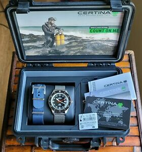 CERTINA DS PH200M Powermatic 80 Watch Timepiece SOLD OUT AUTOMATIC 42 - MINT