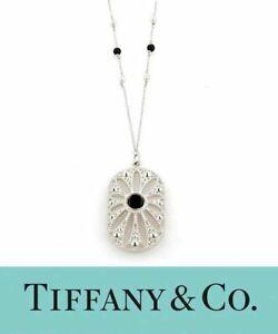 """Tiffany Co. Ziegfeld Collection Daisy Pendant on 24"""" chain Silver"""