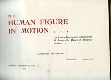 MUYBRIDGE The Human Figure in Motion An Electro-Photographic Investigation 1910
