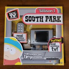 Tiny Tv Classics South Park Edition Real Working Mini Television New