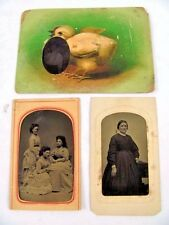 Rare Manville & Mallory Daguerreotype? Tintype? Sheboygon, Wisconsin