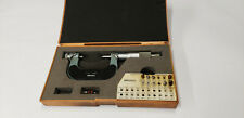 Mitutoyo 126 138 1 2 Screw Thread Pitch Micrometer With11 Anvil Parts Shelf W3