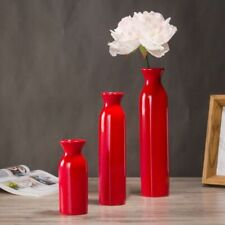 Modern Style Tabletop Flower Vases Ceramic Home Decorations Floral Container New
