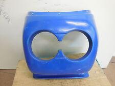 Cockpitverkleidung Superbike Lampenmaske CP2 Universal GFK Blau