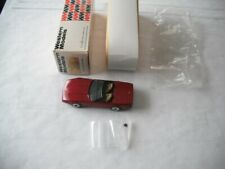 WESTERN MODELS PTH EXCLUSIVE FOR SHOW 1986 CORVETTE ROADSTER WP114 1/43 SCALE