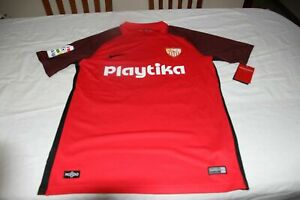 T-Shirt Ready For Game Sevilla F.C Nike T/M No 9 Ben Yedder Publi Playtik