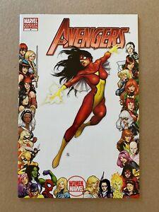 AVENGERS (2010) #4 WOMEN OF MARVEL SPIDER-WOMAN FRAME VARIANT COVER NM 1ST PRINT
